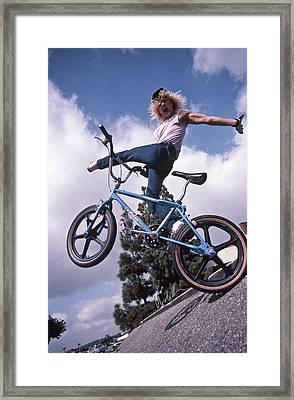 Dizz Hicks 1986 Framed Print