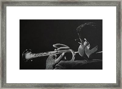 Dizz Framed Print by Nick Young