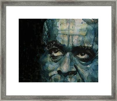 Dizzy Gillespie Framed Print by Paul Lovering
