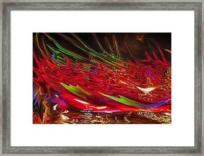 Dizzy Framed Print by Linda Constant