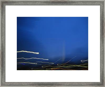 Dizzy On The Mall Framed Print by Sean Owens