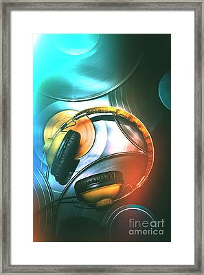 Dj Club Sound Framed Print by Jorgo Photography - Wall Art Gallery