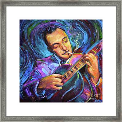 Django Reinhardt  Framed Print by Robert Phelps