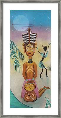 Djumbe Framed Print by Sally Appleby