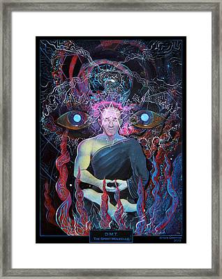 Dmt - The Spirit Molecule Framed Print