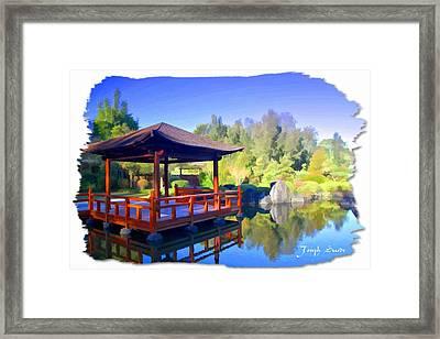 Do-00003 Shinden Style Pavilion Framed Print