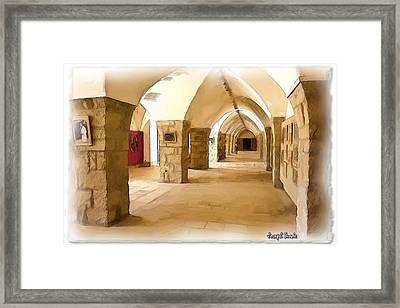 Do-00324 Beiteddine Gallery Framed Print