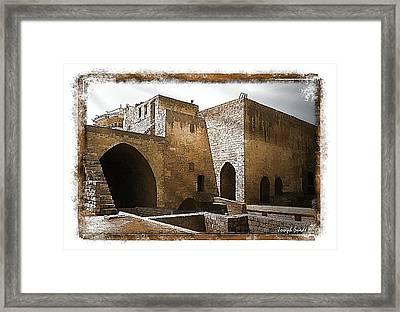 Do-00422 St Gilles Citadelle Framed Print