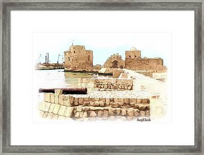 Do-00423 Citadel Of Sidon Framed Print