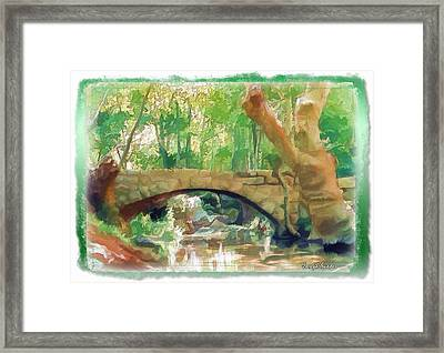 Do-00457 Janneh Bridge Framed Print