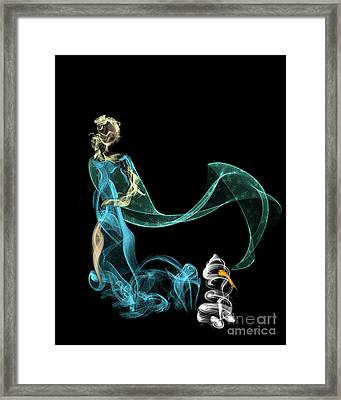 Do I Want To Build A Snowman Framed Print