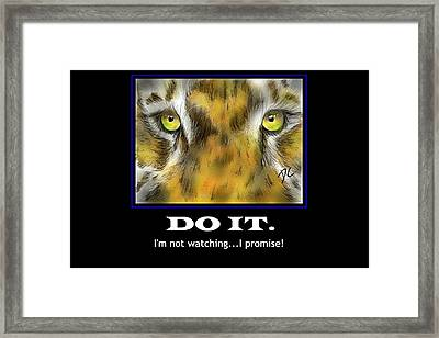Do It Motivational Framed Print