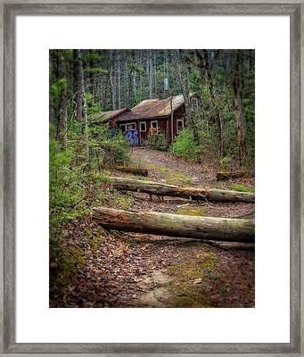 Framed Print featuring the photograph Do Not Enter by Alan Raasch