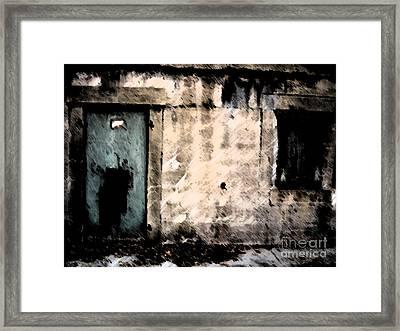 Do Not Enter Framed Print by Courtney Rush