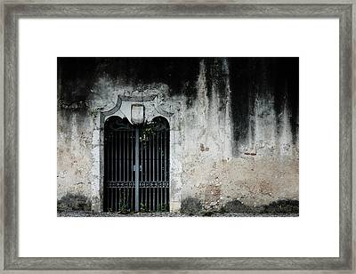 Framed Print featuring the photograph Do Not Enter by Marco Oliveira