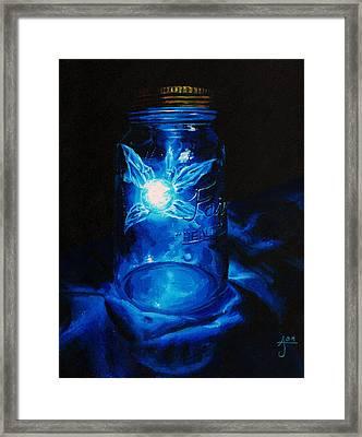 Do Not Open 'til Dead Framed Print by Autum Wright