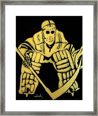 Do Not Play With Me Framed Print by Alexander Almark