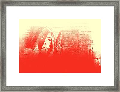 Do Not Weep For Me, Mother Framed Print by Danica Radman