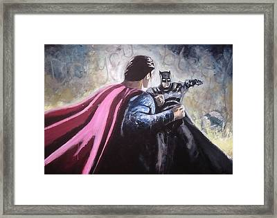 Do You Bleed... Framed Print by Paul Mitchell