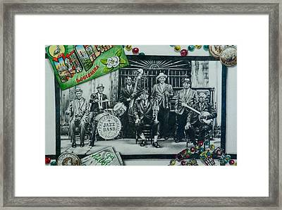Do You Know What It Means To Miss New Orleans Framed Print by Michael Lee Summers