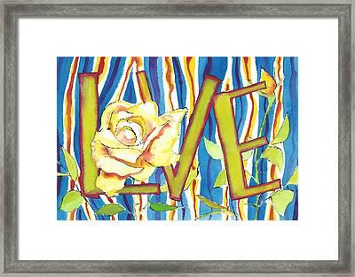 Do You Love Me Surfer Girl Framed Print by Faith Teel