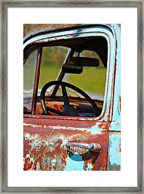Do You Need A Ride- Fine Art Framed Print