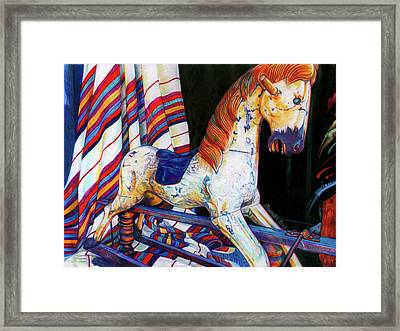 Do You Remember Framed Print by Buena Johnson
