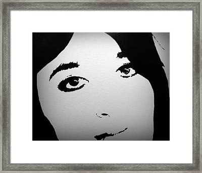 Do You See Me Framed Print