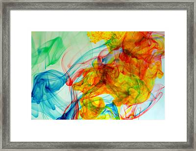 Do You See The Pretty Music Comming Out Of My Toes Framed Print