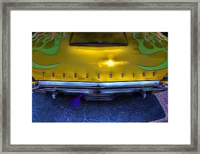 Do You Think It's A Thunderbird Framed Print by Joetta West