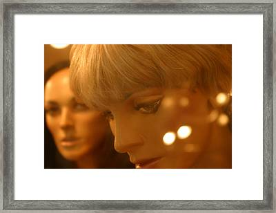 Do You Want To Talk Framed Print by Jez C Self