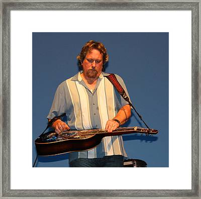 Dobro King Framed Print by Wild Expressions Photography