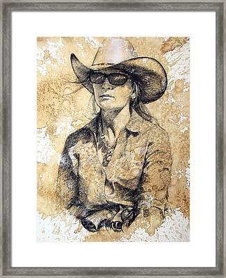 Doc Framed Print by Debra Jones