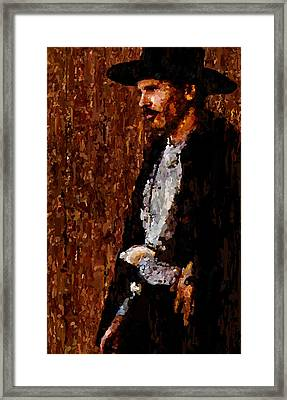 Doc Holliday Tombstone Art Signed Prints Available At Laartwork.com Coupon Code Kodak Framed Print