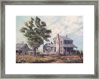 Doc Hunter's Place Available Framed Print