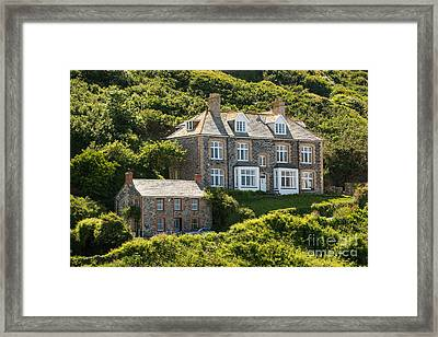 Doc Martin's Surgery Framed Print by Amanda Elwell