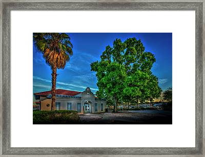 Dock Master Framed Print by Marvin Spates