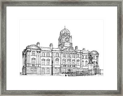 Dock Offices. Barry Framed Print