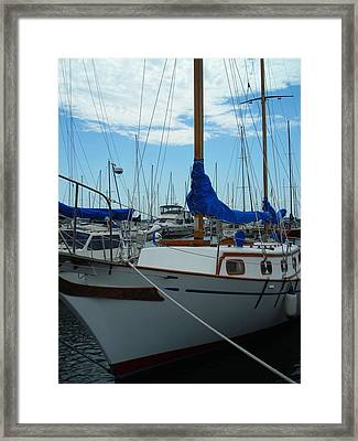 Docking Bay Framed Print by Peter Mowry