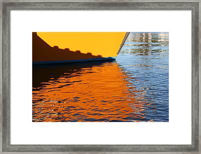 Dockside Framed Print by Evelyn Antonysen