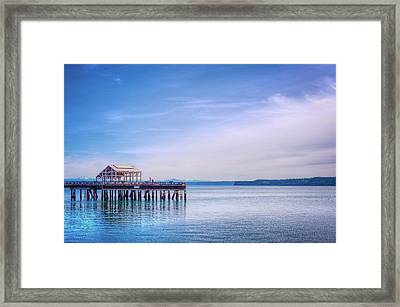 Framed Print featuring the photograph Dockside by Spencer McDonald