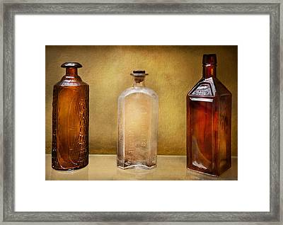 Doctor - Bitters  Framed Print by Mike Savad