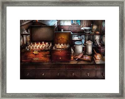 Doctor - Doctor In A Box Framed Print by Mike Savad