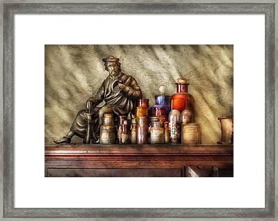 Doctor - Doctor Recommended  Framed Print by Mike Savad