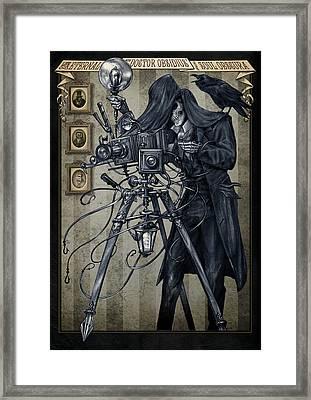 Doctor Obsidious Soul Obscura Framed Print