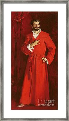 Doctor Pozzi At Home, 1881 Framed Print by John Singer Sargent