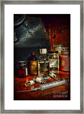 Doctor - The House Call	 Framed Print