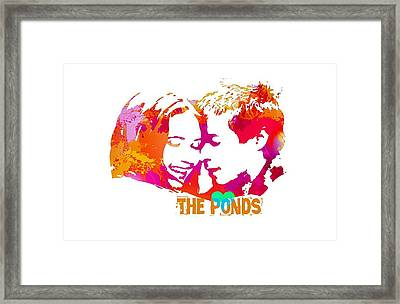 Doctor Who Inspired, The Ponds Framed Print