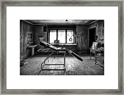Doctors Cabinet - Abandoned Building Framed Print by Dirk Ercken
