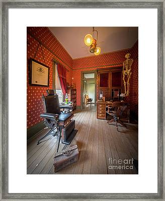 Doctor's Office Framed Print by Inge Johnsson